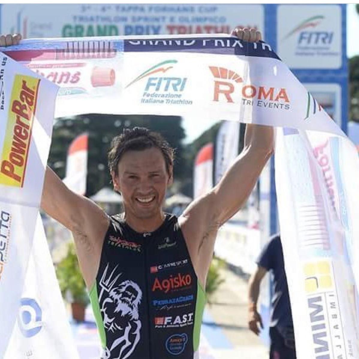 Sebastian Pedraza il tanghero del Triathlon italiano!