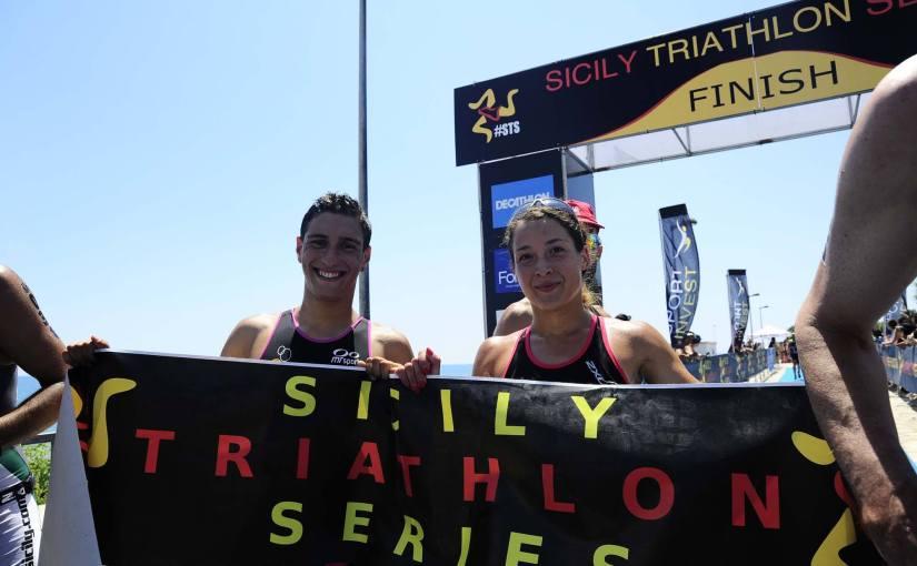 Enrico Schiavino il vincitore della quarta tappa delle Sicily TriathlonSeries!