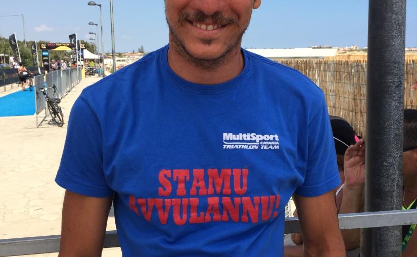 Ennio Salerno mantiene la maglia di Leader delle Sicily TriathlonSeries…