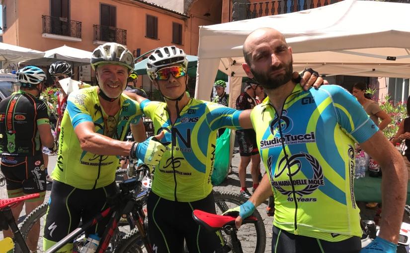 Il Team CicloMillennio alla tappa finale del circuito di MTB Maremma Tosco Laziale di Montefiascone ci racconta com'é andata la gara in una giornata supercalda!
