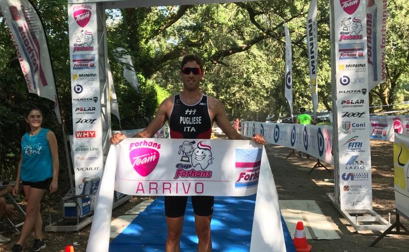 Giulio Maximo conquista con il Torrino Triathlon Team  in territorio etrusco l'olimpico diVico!