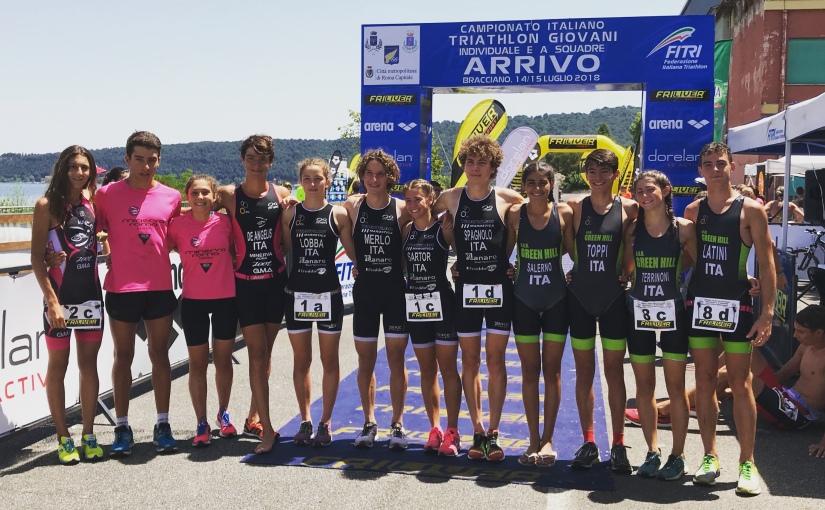 Il Green Hill nella Mixed Relay ai Campionati Italiani Giovanili agguanta un bronzomeraviglioso!